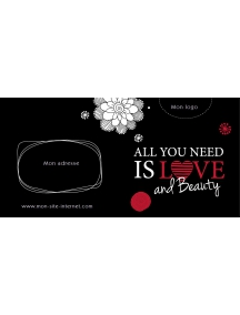 Bon cadeau - All you need is love and beauty LOVE