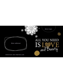 Bon cadeau - All you need is love and beauty OR