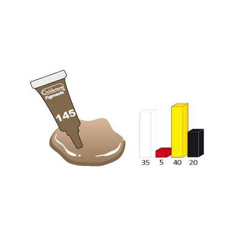 Pigment brun 3ml 145