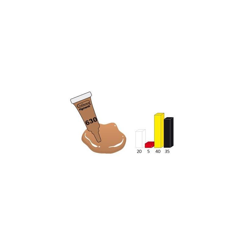 Pigment brun 3ml 630