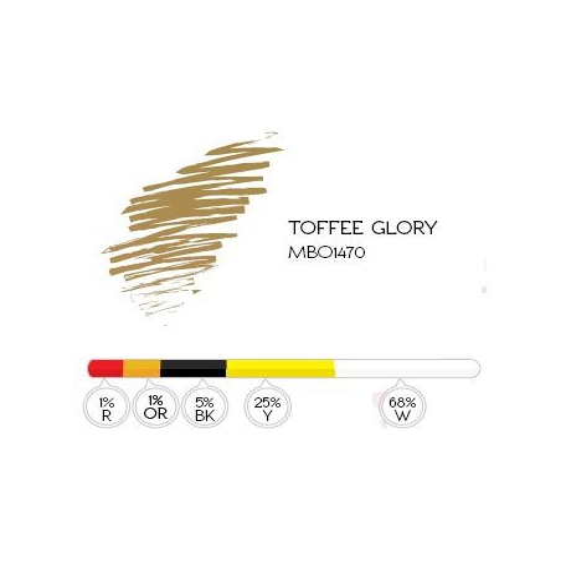 Toffee 8ml pigment Glory