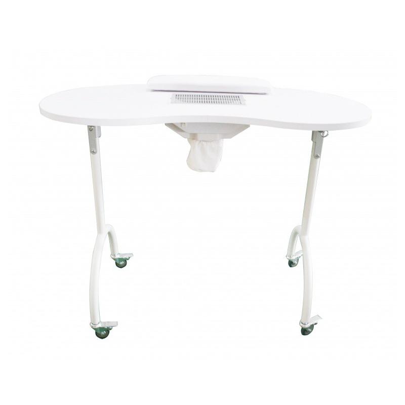 table de manucure portable palmar wk m004 mobilier mains pieds. Black Bedroom Furniture Sets. Home Design Ideas