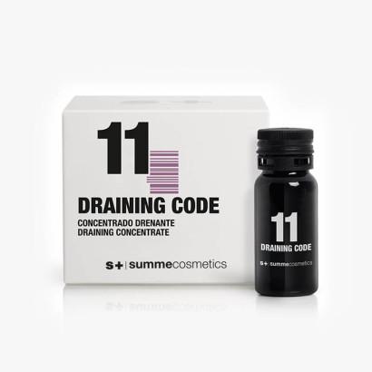 11 Draining code (9 x 10ml) - Traitement drainant
