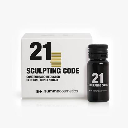 21 SCULPTING CODE - traitement réducteur (9 x10ml )