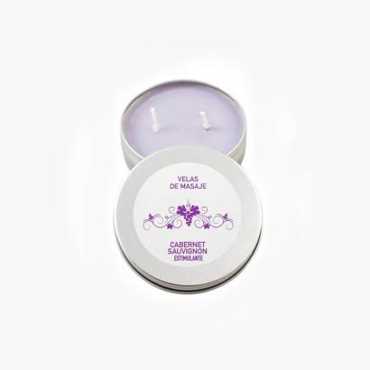 Bougies de massage - Cabernet Sauvignon