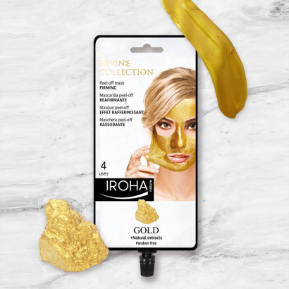 IROHA GOLD Masque peel-off - Effet Raffermissant