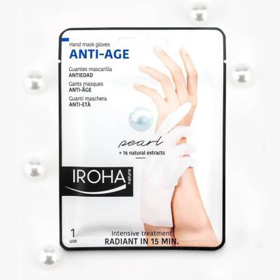 IROHA gants à la  perle ANTI-AGE