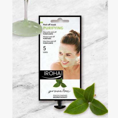 IROHA Beauty Time - Masque visage Peel off - Thé vert