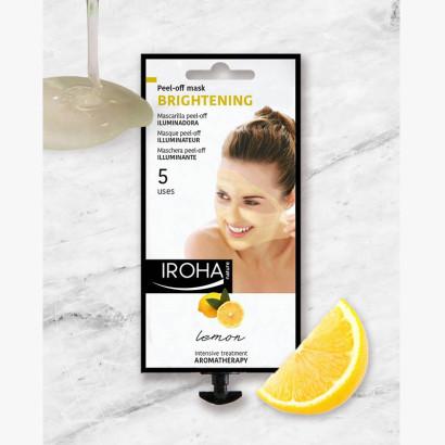IROHA Beauty Time - Masque visage Peel off - Citron