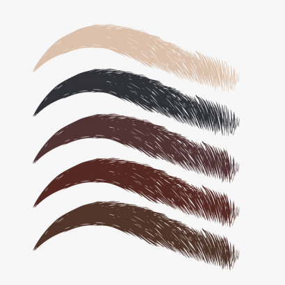 Pack 5 pigments microblading
