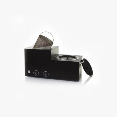 Chauffe-cire 4,5kg x 2 cubes noir (9L)