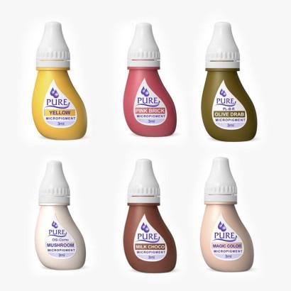 Pack  de 6 Pigmentos homologados matizadores