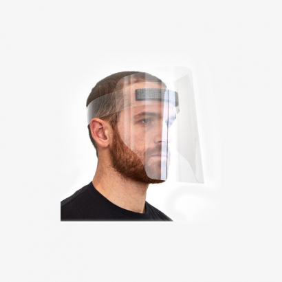 Visière de PVC, écran visage complet