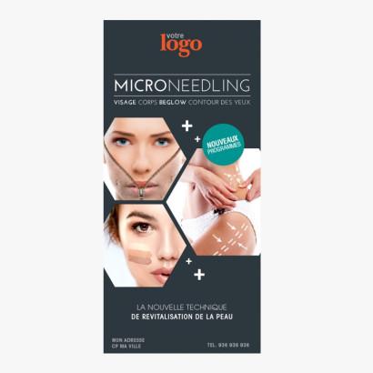 Flyer Microneedling