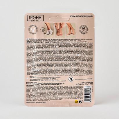 Chaussettes PRO - TRAITEMENT PIEDS /ONGLES -Xtra soft -Huile d'argan