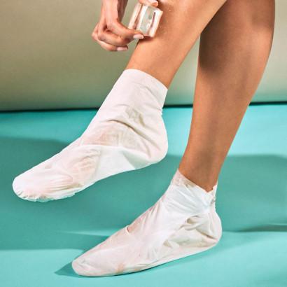 IROHA Chaussettes -Traitement pieds/ongles - Menthe